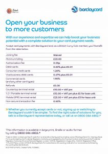 BCC rate flyer -2016